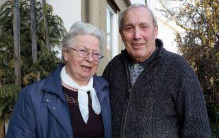 Gerhard (78) und Gertrud (75) Braun